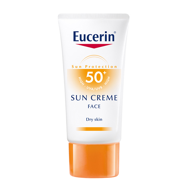 کرم ضد آفتاب +50 spf اوسرین مناسب پوست خشک
