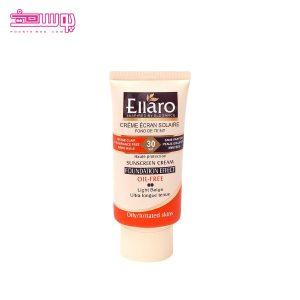 ضد آفتاب کرم پودری الارو SPF 30 مناسب پوست چرب حجم 40ml