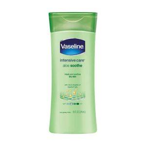 aloe soothe body lotion Vaseline 300x300 - لوسیون بدن آلوئه ورا وازلین