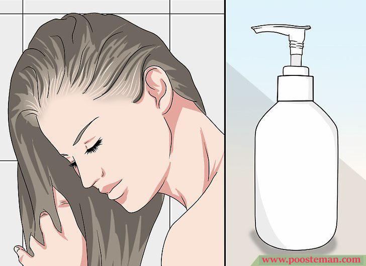 Apply a Hair Mask Step 3 - آموزش تصویری استفاده از ماسک مو