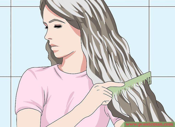 Apply a Hair Mask Step 6 - آموزش تصویری استفاده از ماسک مو