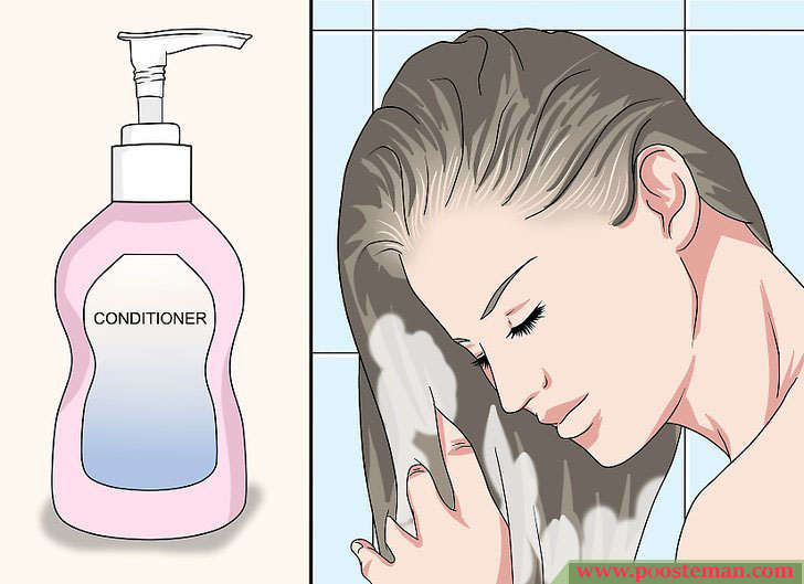 Apply a Hair Mask Step 7 - آموزش تصویری استفاده از ماسک مو