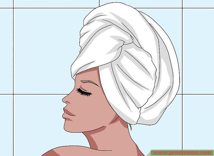 Apply a Hair Mask Step 8 - آموزش تصویری استفاده از ماسک مو