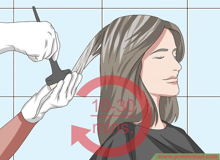 Apply a Hair Mask Step 9 - آموزش تصویری استفاده از ماسک مو