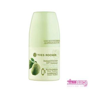 soft deodorant californian Yves Rocher 300x300 - دئودورانت ایوروشه با رایحه بادام کالیفرنیا حجم 50 میل