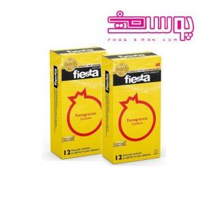 کاندوم انار تنگ کننده واژن فیستا مدل Pomegranate