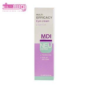 Neuderm Multi Efficacy Eye Cream2 300x300 - کرم دور چشم  Multi Efficacy نئودرم حجم 15 میلی لیتر
