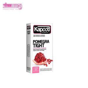 کاندوم انارکاپوت مدل pomegra tight بسته ۱۲ عددی