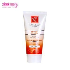 ضد آفتاب بی رنگ مای SPF30 (فاقد چربی) حجم 50ml