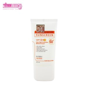 ضد آفتاب مینرال مای SPF50 (مناسب پوست حساس)
