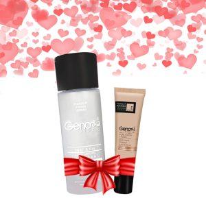 پک هدیه آرایشی ژنوبایوتیک به همراه هدیه ویژه