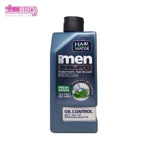 شامپو ضدشوره و خنک کننده کامان مناسب موهای چرب حجم 410ml