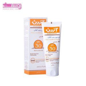 لوسیون ضدآفتاب پوست چرب آردن SPF30