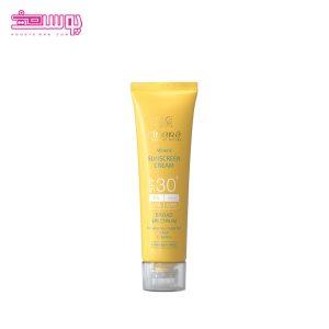 کرم ضدآفتاب بی رنگ سینره SPF30 (مناسب پوست حساس)