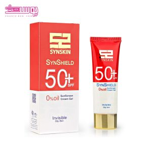 ضد آفتاب بی رنگ ساین اسکین SPF50 مدل ساین شیلد حجم 50ml