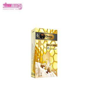 کاندوم کلایمکس مدل شیر عسل 12 عددی